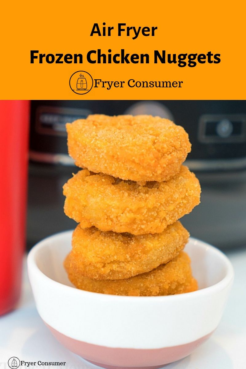 Air Fryer Frozen Chicken nuggets recipe