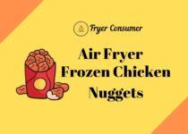 Frozen chicken nuggets in air fryer