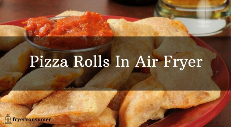 Pizza rolls in air fryer