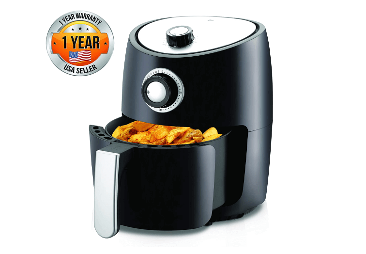 Nutrichef Air Fryer Oven 2 Quart Review (Best Rated)