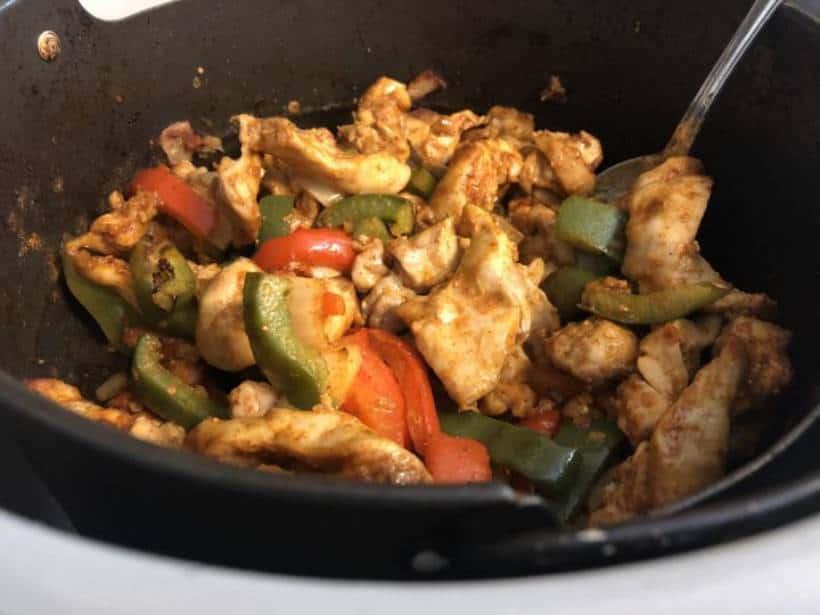 Air Fryer Chicken Fajitas