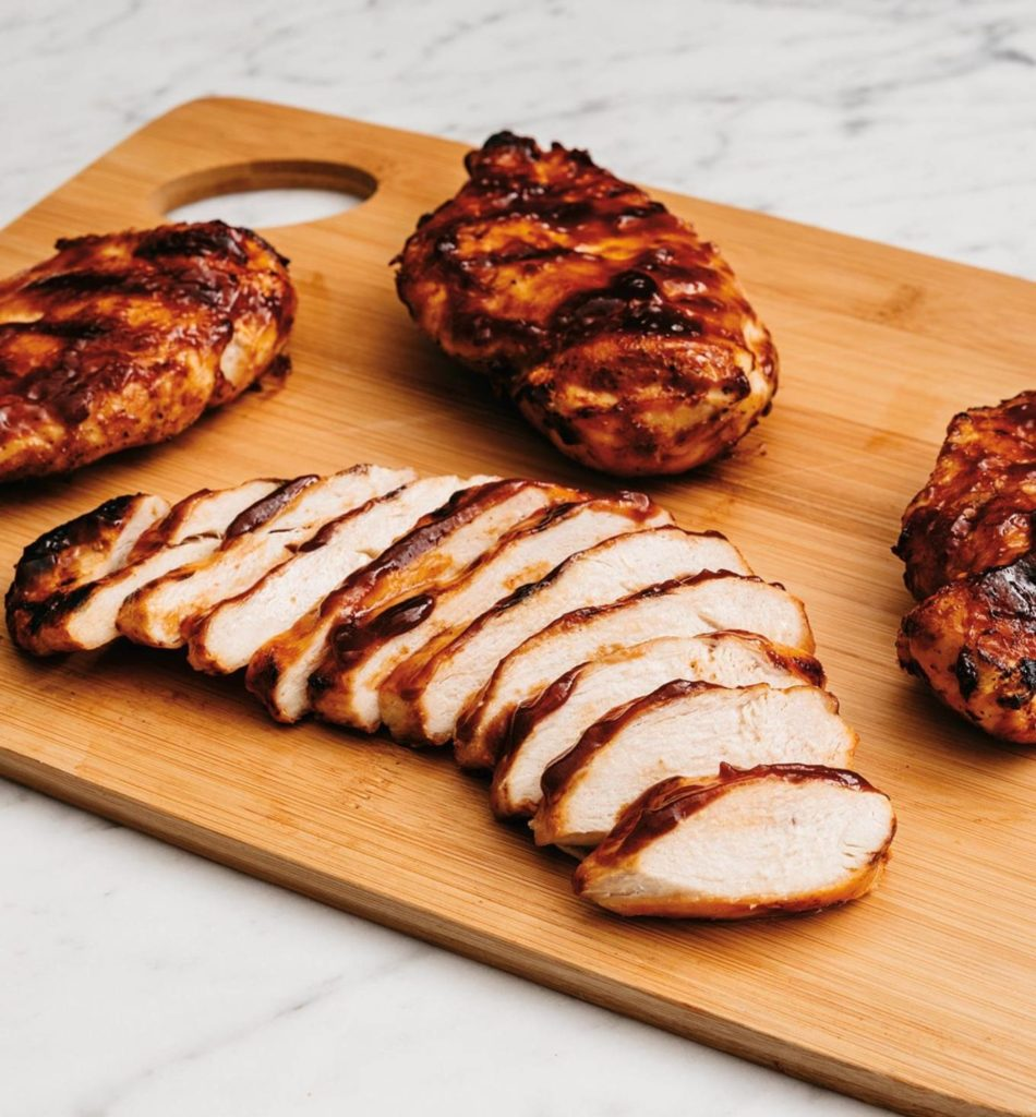 Frozen Barbecue Chicken Breasts
