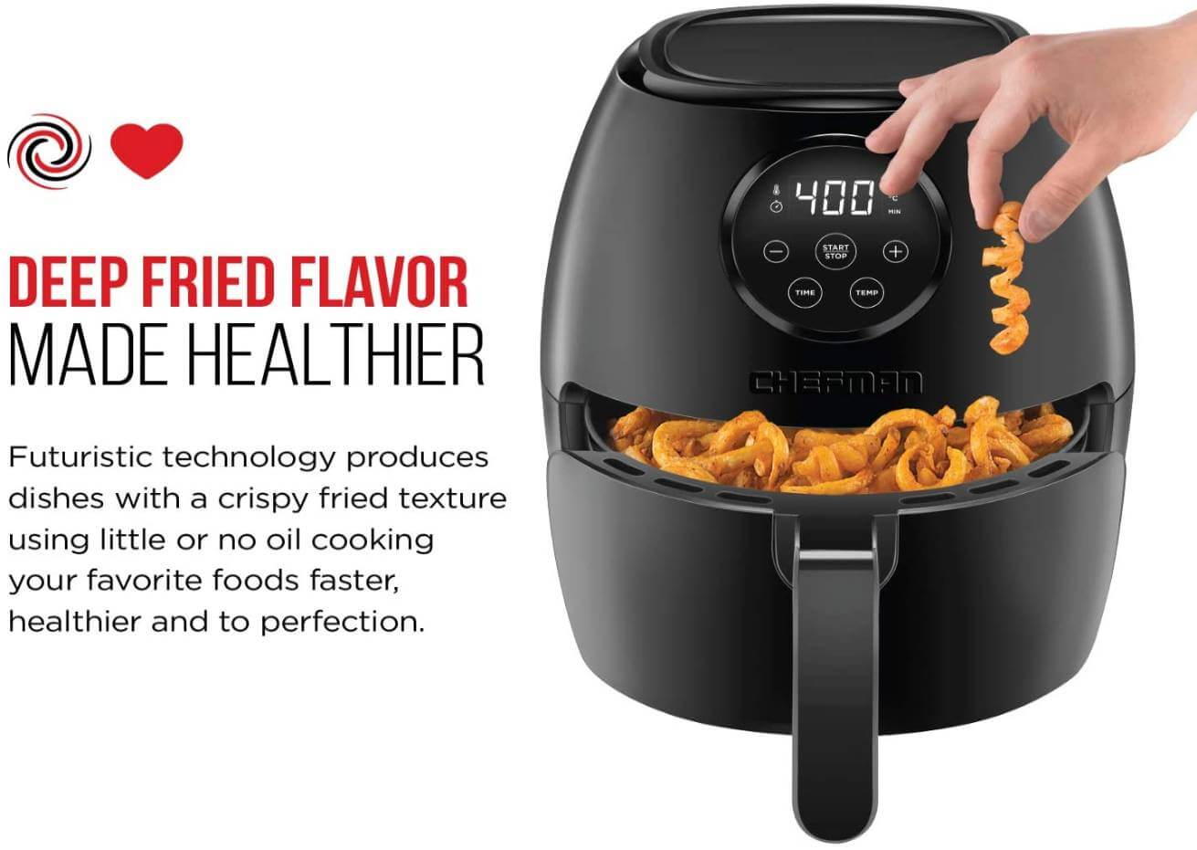 chefman air fryer reviews