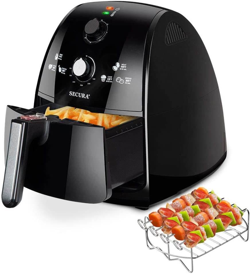 Secura Air Fryer 4.2Qt