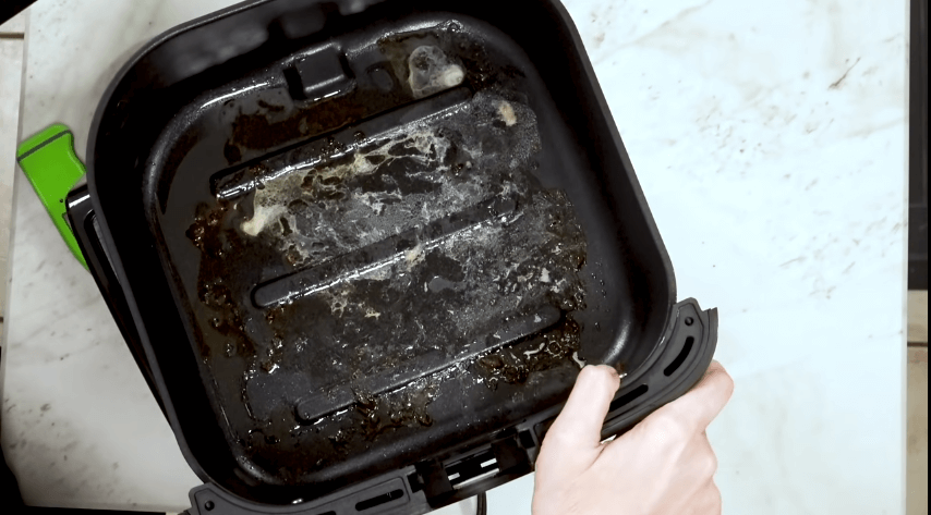 How to clean cosori air fryer